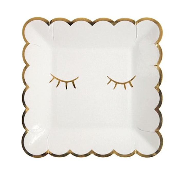 Blinky Eye Paper Party Plates