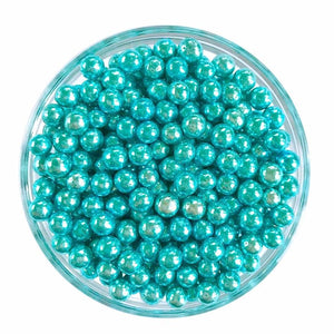 Metallic Blue Dragee Sprinkles, 5mm