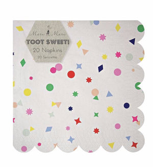 Toot Sweet Charms Paper Party Napkins, Meri Meri