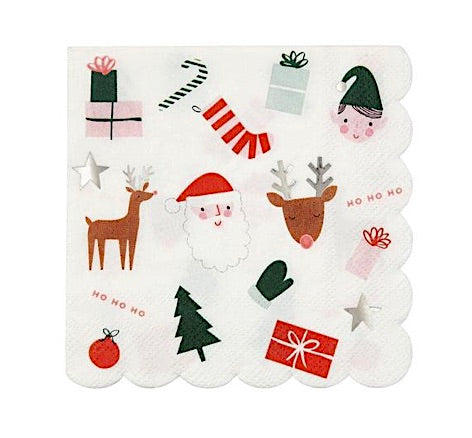 Christmas Icons Paper Napkins by Meri Meri