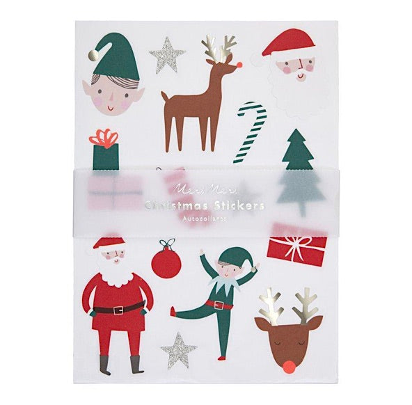 Festive Christmas Icons Holiday Stickers by Meri Meri