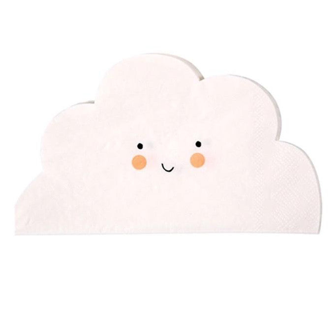 Cloud Shaped Paper Napkins, Meri Meri