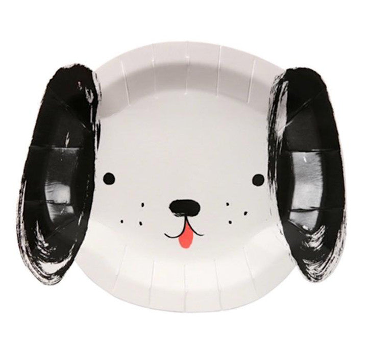 Dog Paper Party Plates, Meri Meri