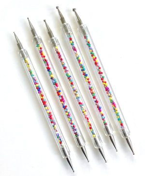 Sprinkles Texture and Dotting Tool Set 5 pc. | Fondant Texture Tools Set