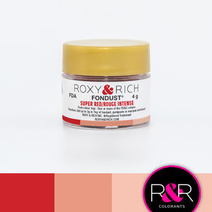 Roxy and Rich Fondust- Super Red 4g