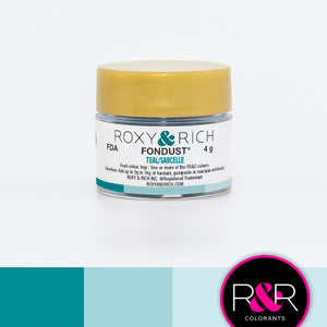Roxy and Rich Fondust- Teal 4g