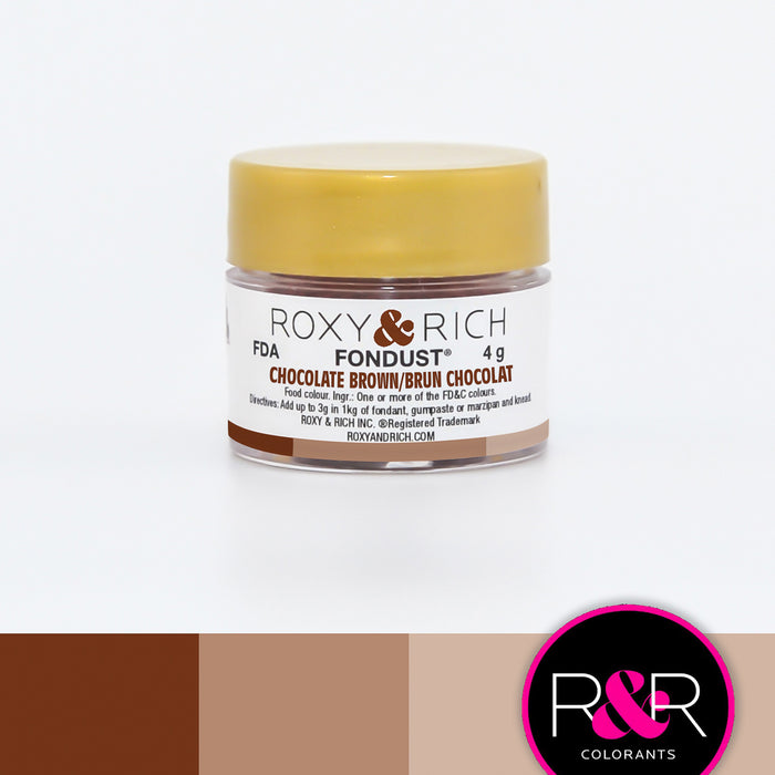 Roxy and Rich Fondust- Chocolate Brown 4g