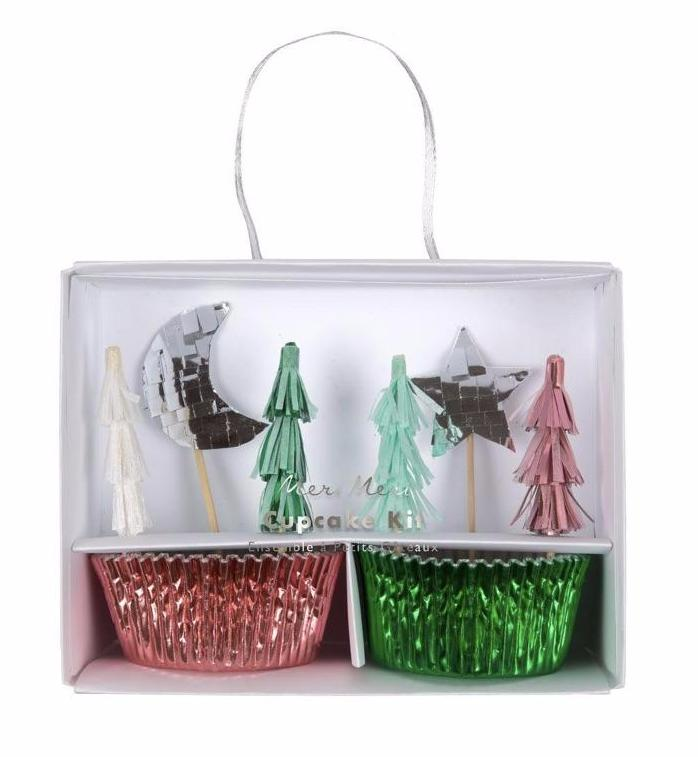 Festive Christmas Cupcake Kit by Meri Meri