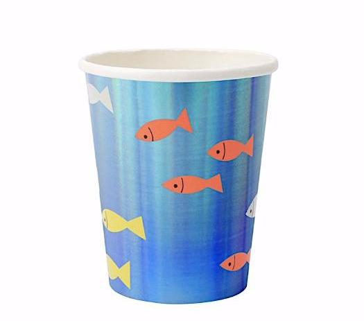 Under the Sea- Fish Cups by Meri Meri