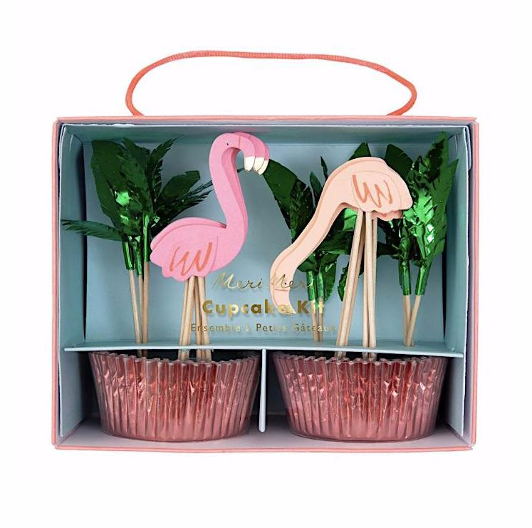 Flamingo Cupcake Kit, Meri Meri