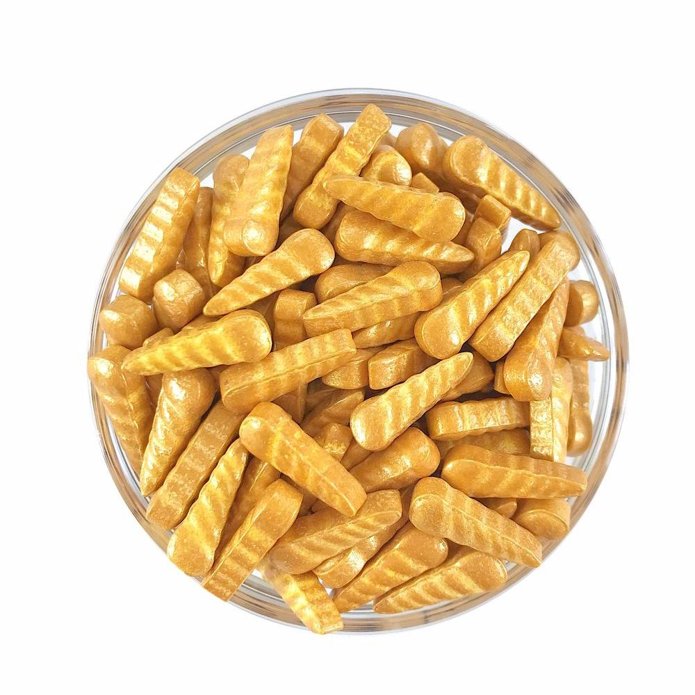 Gold Unicorn Horn Candy Shape Sprinkles