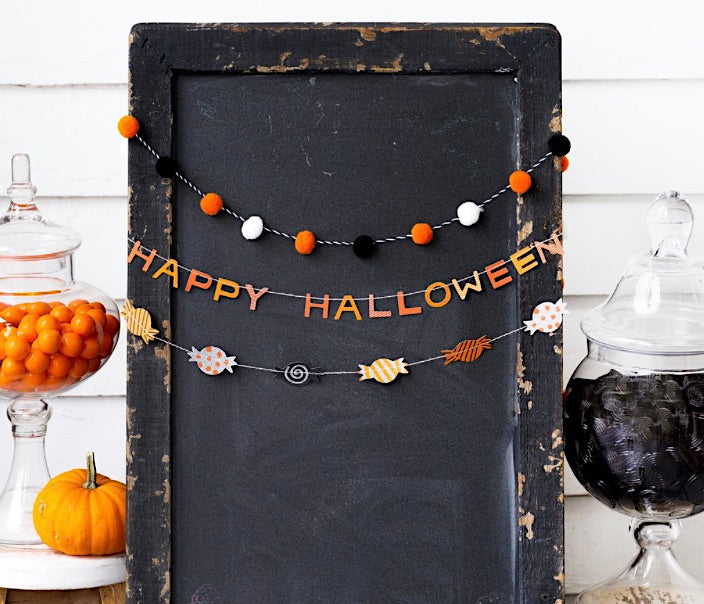 Halloween Mini Banner Set