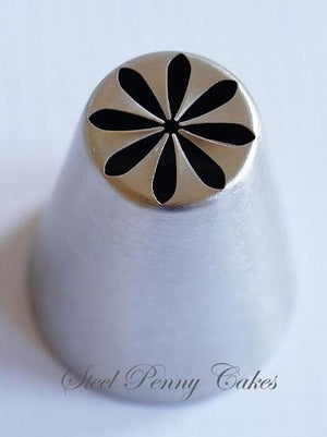 Russian style piping tip- Dahlia flower
