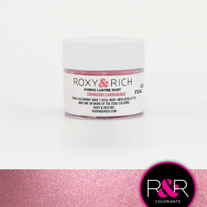 Roxy and Rich Hybrid Luster Dust- Cranberry 2.5g