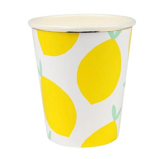 Lemon Paper Cups by Meri Meri