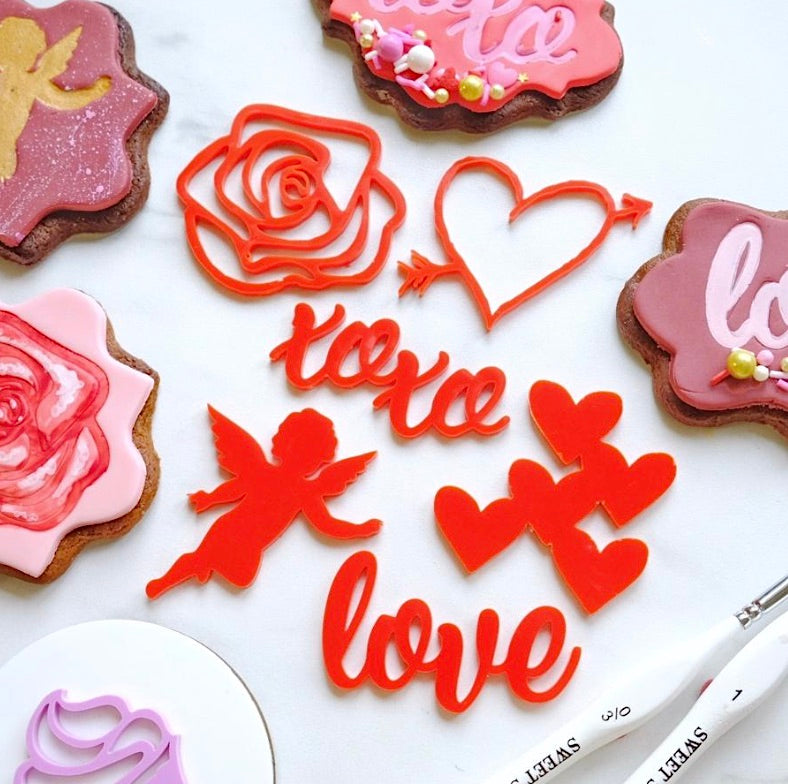 Sweet Stamp- Love Elements Set