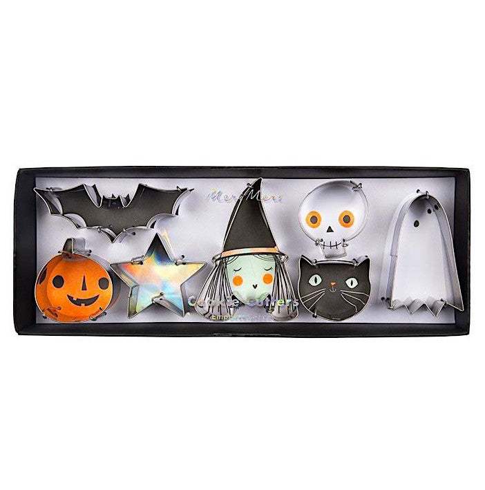 Mini Halloween Cookie Cutter Set, Meri Meri