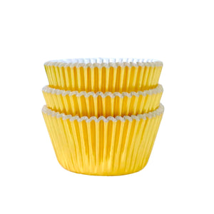 MINI Metallic Gold Foil Cupcake Liners 50 ct.