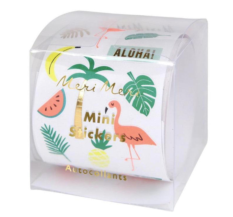 Mini Tropical Stickers, Meri Meri