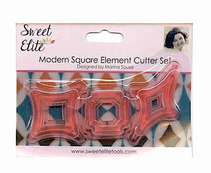 Modern Square Cutters Set (9) by Sweet Elite Tools