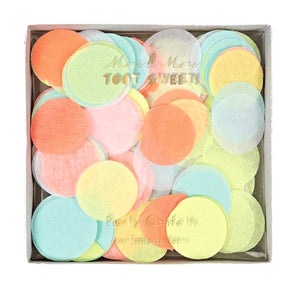 Toot Sweet Bright Neon Tissue Confetti Mix