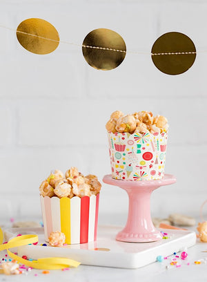 Party Striped Baking Cups (50)