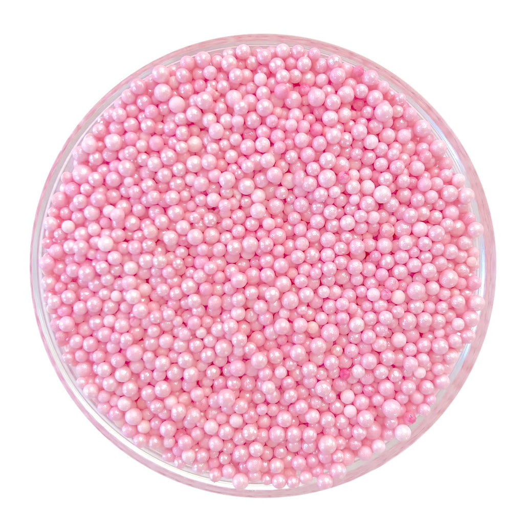 Pastel Pink Pearlized Nonpareils