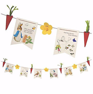 Peter Rabbit, Beatrix Potter Party Garland Bunting