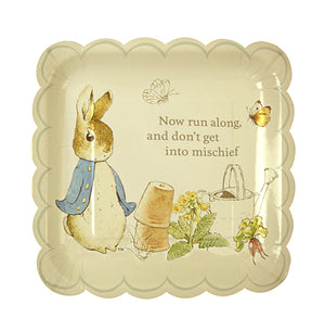 Peter Rabbit, Beatrix Potter Paper Party Plates