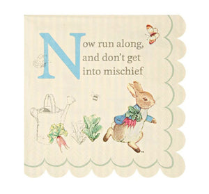 Peter Rabbit, Beatrix Potter Paper Party Napkins