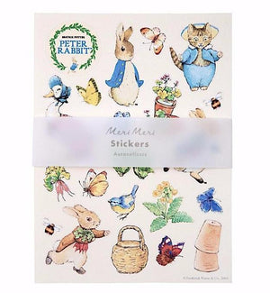 Beatrix Potter Peter Rabbit Sticker Sheets