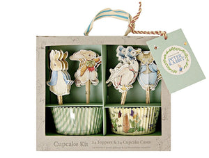 Peter Rabbit, Beatrix Potter Cupcake Kit, Meri Meri