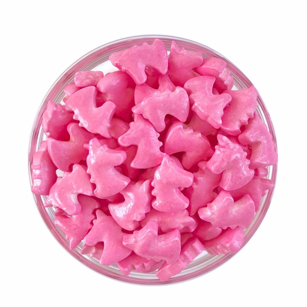 Pink Unicorn Candy Shape Sprinkles