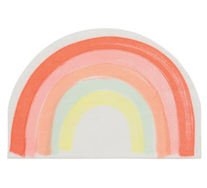 Rainbow Shaped Paper Napkins, Meri Meri