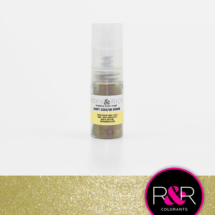 Roxy and Rich Hybrid Sparkle Dust Pump- Soft Gold 4g
