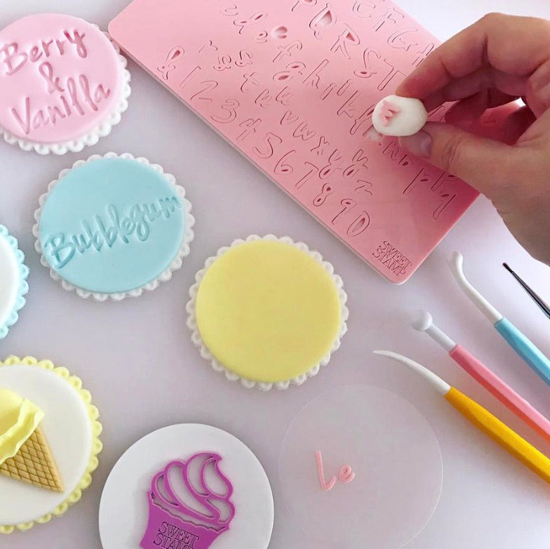 Sweet Stamps By Amy Cakes- Vanilla Set