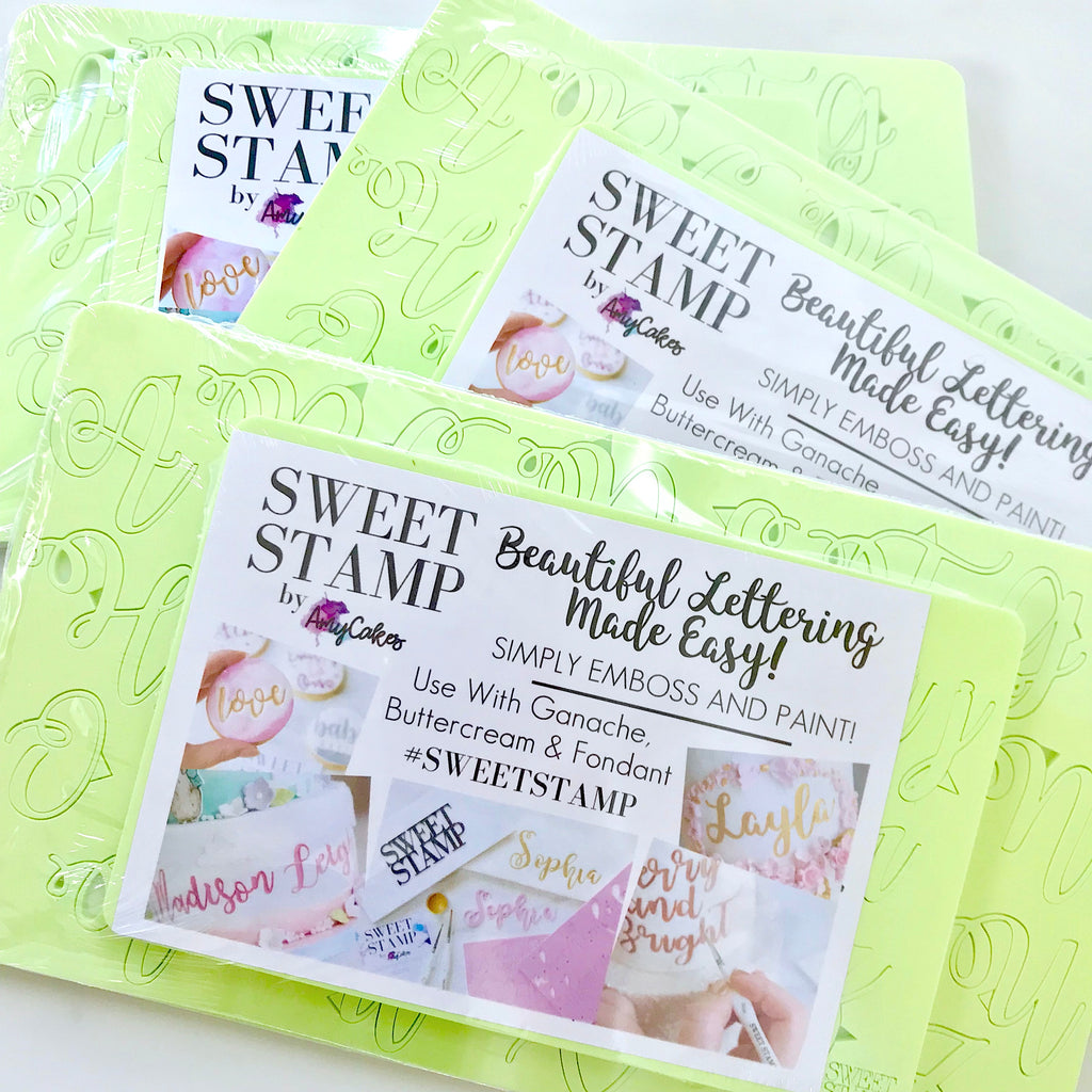 Sweet Stamp by Amy Cakes Curly Set