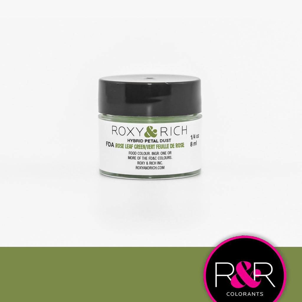 Roxy and Rich Hybrid Petal Dust- Rose Leaf Green 1/4oz.