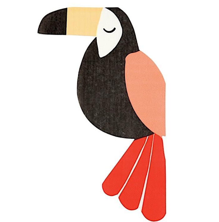 Tropical Toucan Paper Napkins