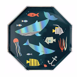 Under the Sea- Fish Theme Plates, Meri Meri
