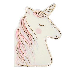 Unicorn Paper Party Napkins, Meri Meri