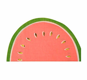 Watermelon Paper Napkins, Meri Meri, Summer Party