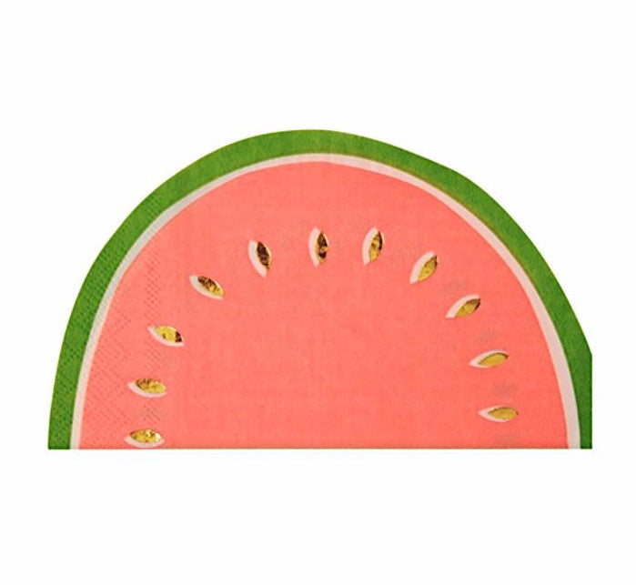 Watermelon Paper Party Napkins by Meri Meri