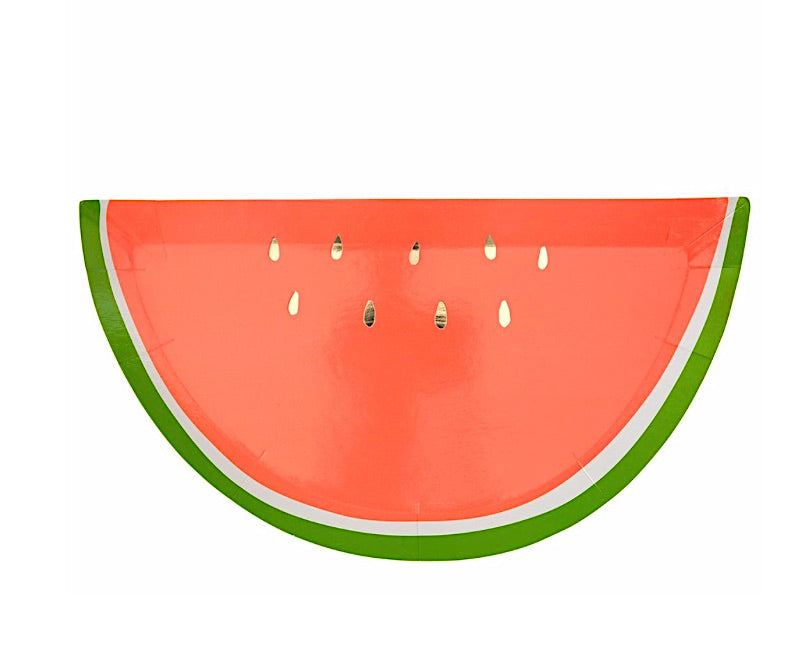 Watermelon Paper Party Plates