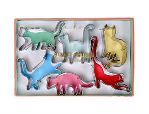 Funny Felines, Mini Cat Cookie Cutter Set