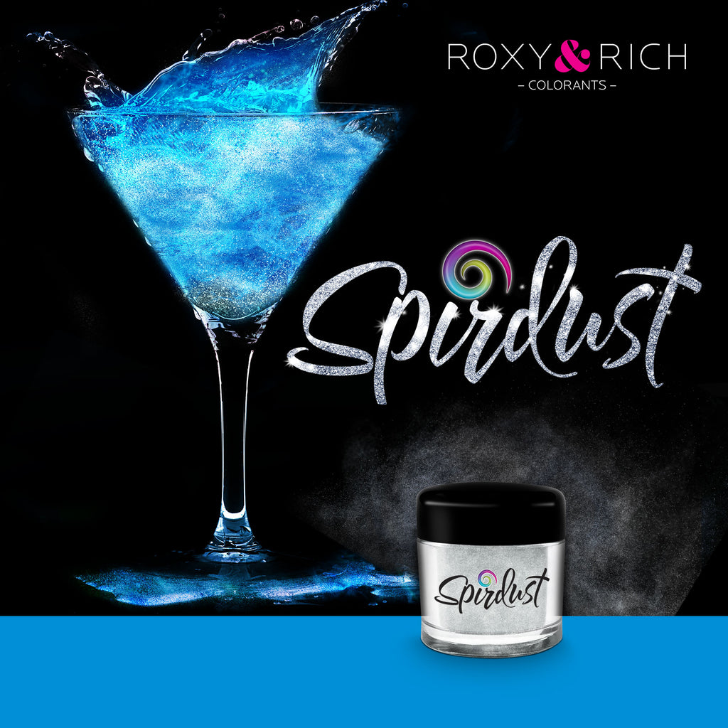 Roxy and Rich Spirdust- Blue 1.5g, Cocktail Shimmer Dust