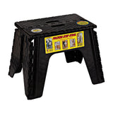 Black  12 Step Stool