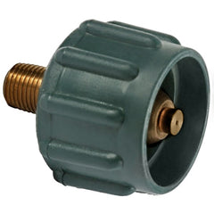 Green  1/4  Acme Nut LP Hose Connector