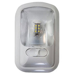 Optic Lens Bright White  Euro-Style  LED  Single Dome Light