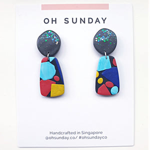 Sprinkles of Tiffany Series Statement Dangle 4